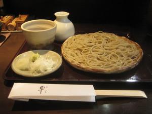神戸元町港町の手打ち蕎麦