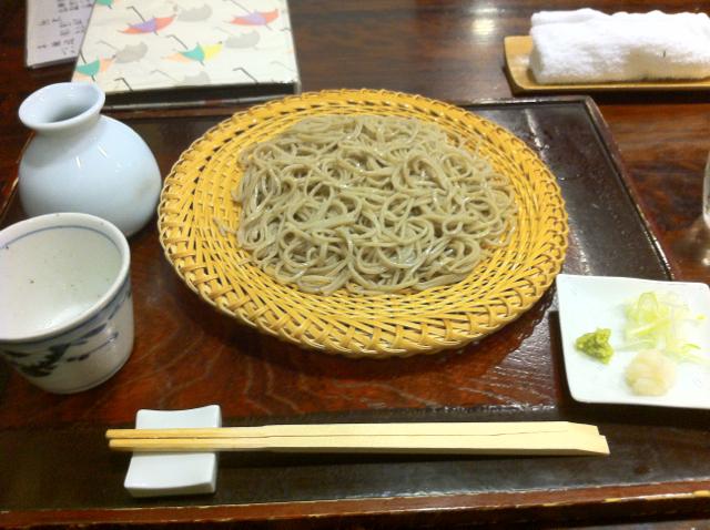根津神社入口の創作蕎麦割烹