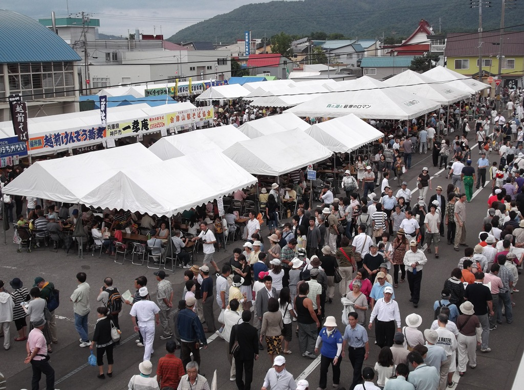 番外編 第19回北海道幌加内新そば祭り