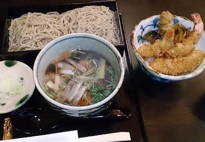 お得なミニ天丼 「渚庵」(茅ヶ崎市)
