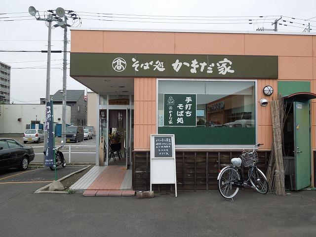 おすすめは、普通のもりか、辛み大根そば 江丹別(旭川市)の2番粉、3番粉か上川の全粒粉を使い、二八蕎麦
