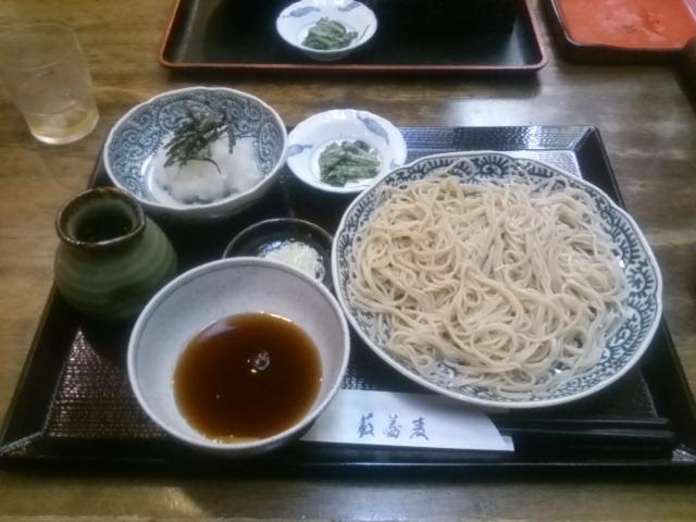 老舗そば店 「藪蕎麦」(新潟市)
