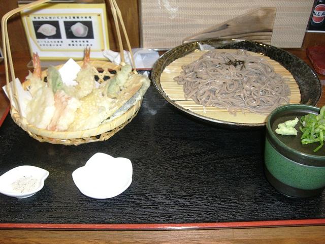 初めて食べた兵庫県丹波産のそば