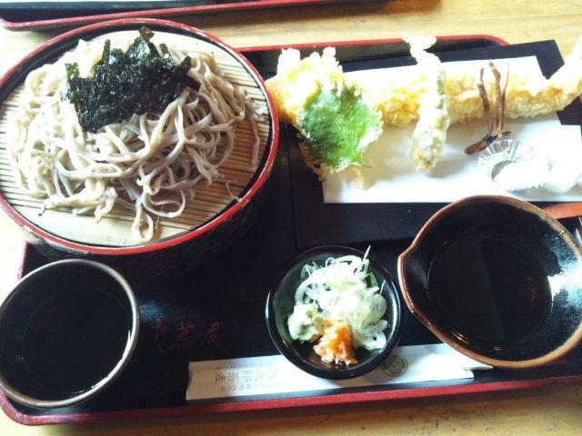 会津地方伝統の石筵流蕎麦