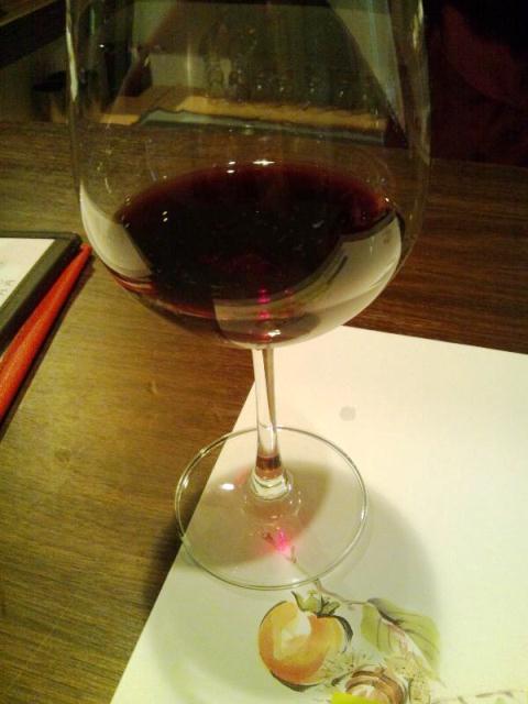 極細な十割蕎麦にワインがあう蕎麦屋