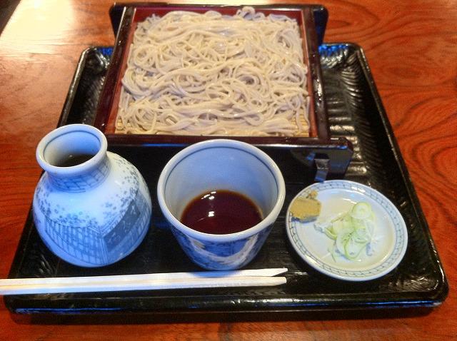 華族様・士族様・官員様御用達:江戸蕎麦の本流