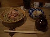 洗練された蕎麦と天ぷら