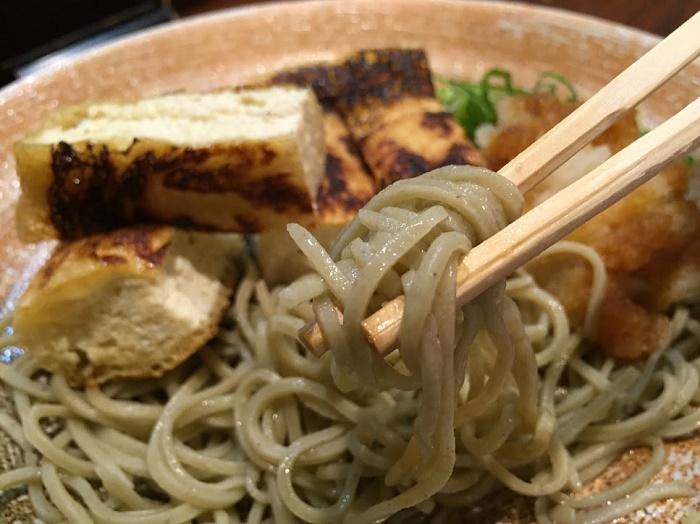 細打ちと太打ちの十割新蕎麦 「蕎麦天婦羅 やす竹」(福井市)