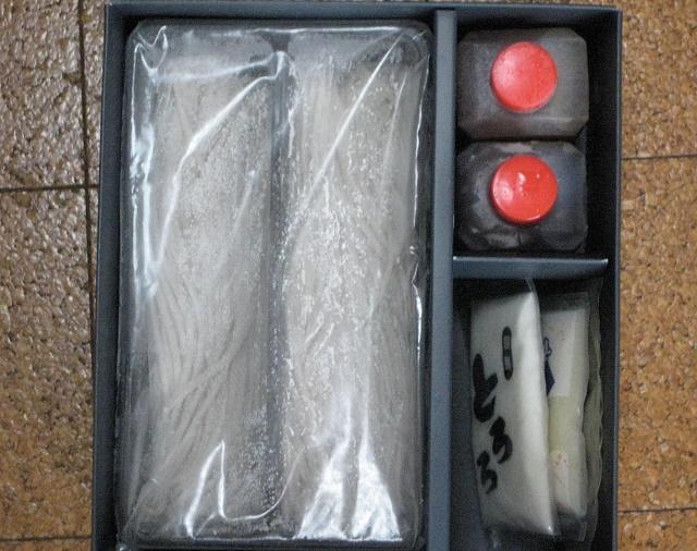 父の日のプレゼント・信州田舎そば 「信寿食(㈱美包)」(長野市)