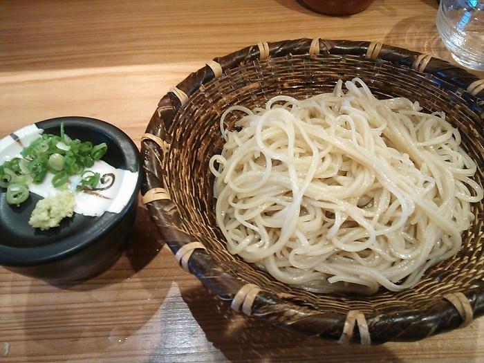 会津のお蕎麦 「香寿庵」(大阪市)
