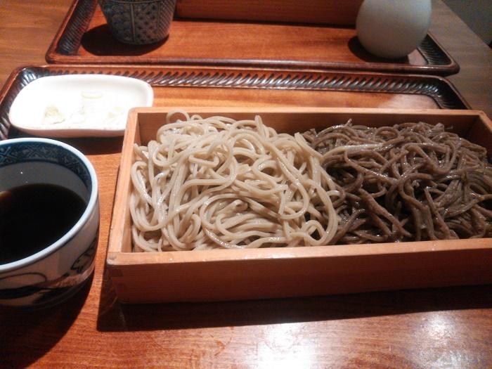 東京の外れの江戸蕎麦屋