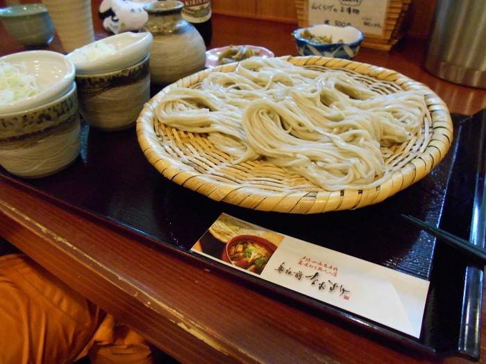 戸隠神社 奥社前 杜の中の蕎麦屋 「なおすけ」(長野市)