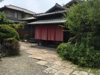 関宿の雰囲気のあるおそば屋さん 「蕎麦・天婦羅処 萌へ井」(亀山市)