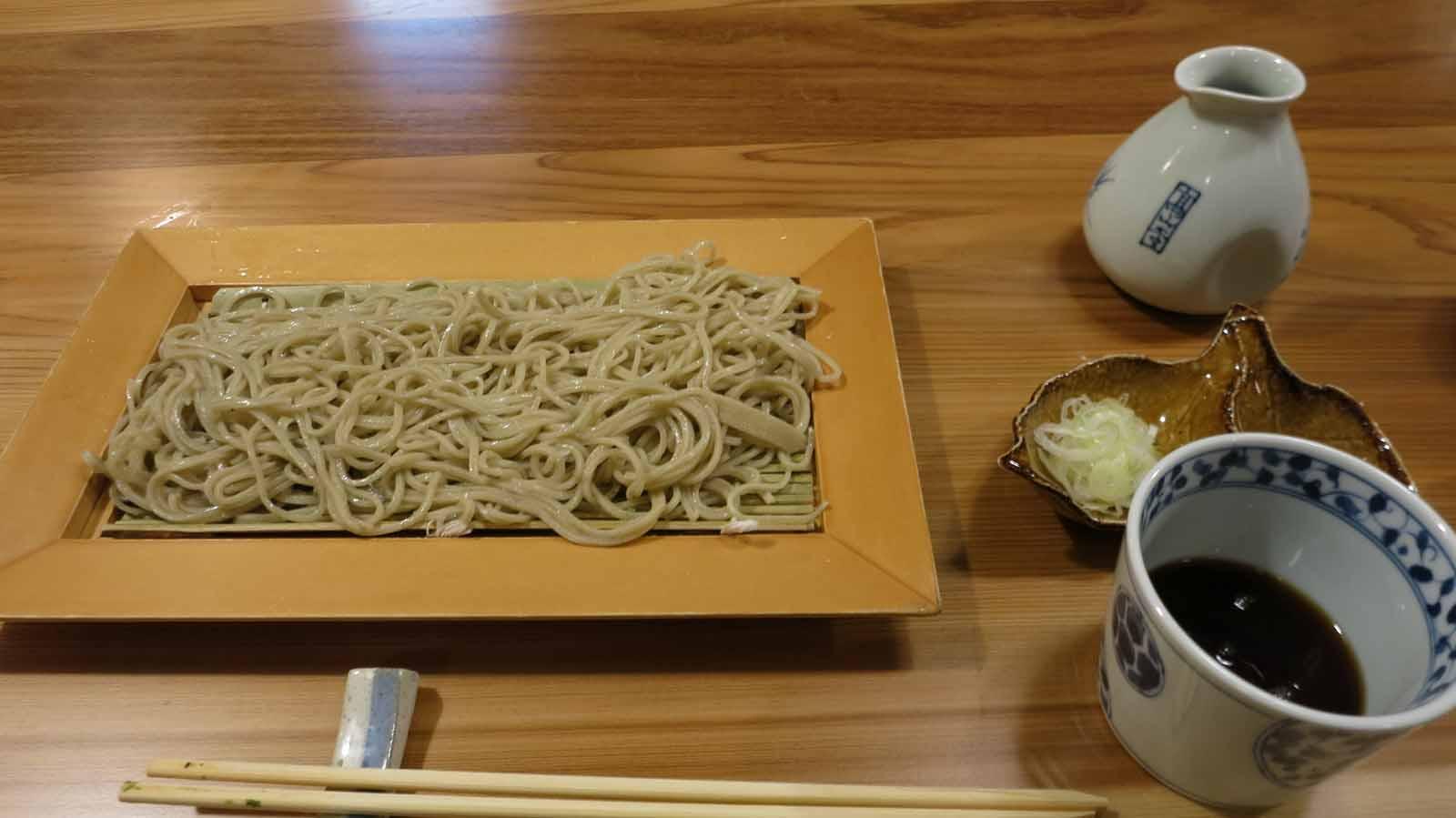 本格的な江戸蕎麦と魚 「鴻巣宿 阿部」(鴻巣市)