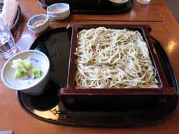 のんびりと蕎麦 「慈久庵」(常陸太田市)