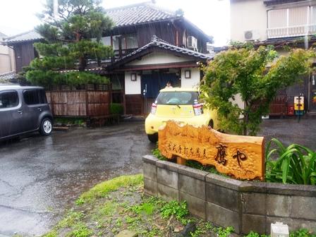 島崎藤村所縁の旧家で営む心落ち着く蕎麦店