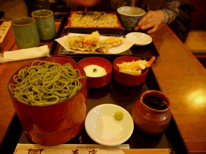 蔵の町にある蕎麦店「寿庵」(川越市)