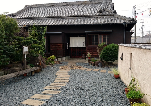 新そばいただきました。 「会合」(堺市)