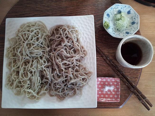 ほのかな甘さの新そばの色と風味に満足「手挽き蕎麦家 おおもり」(浜松市)