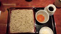 江戸で食べられる薩摩蕎麦