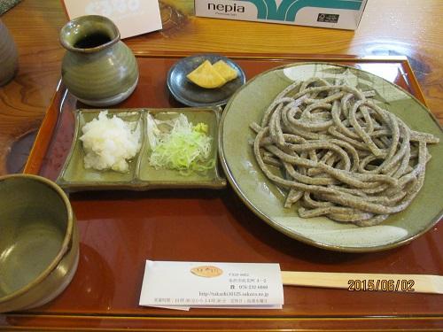 こだわりの十割そば 「蕎麦 やまぎし」(金沢市)