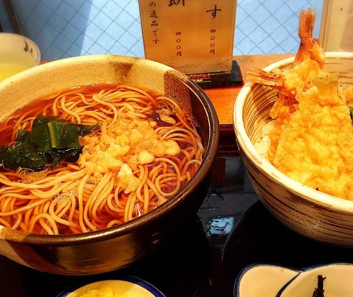 何を食べようかと楽しみのお店 「蕎麦遊膳 花吉辰(はなきっしん)」(中央区)